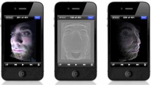 Tridimensional su iPhone