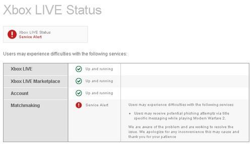 Xbox LIVE Phishing