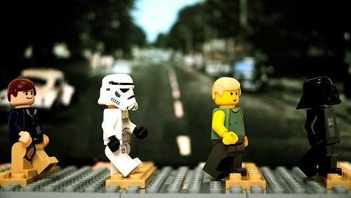 La copertina di Abbey Road modificata