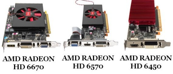 AMD Radeon HD 6570, 6670