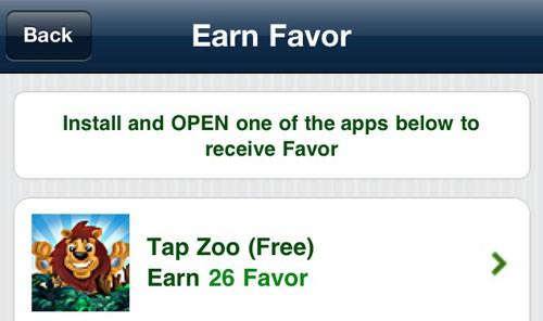 Favor, app a installazione agevolata