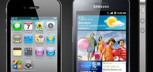 Samsung Galaxy S II e Apple iPhone 4 a confronto