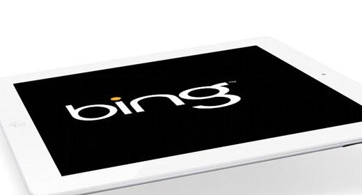 Bing su iPad