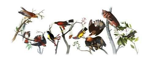 Google ricorda John James Audubon