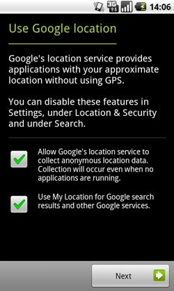 Screenshot da Android