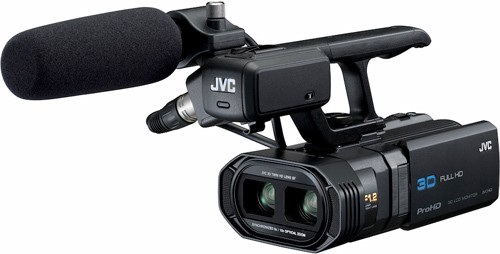 JVC GY-HMZ1 ProHD 3D