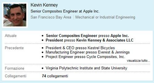 Kevin Kenney su LinkedIn
