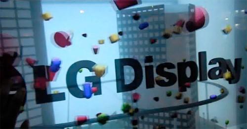 LG, Display LCD trasparente