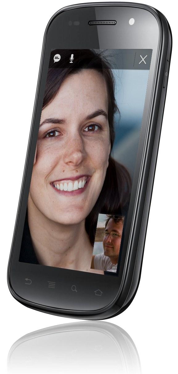 Videochiamata su Google Nexus S
