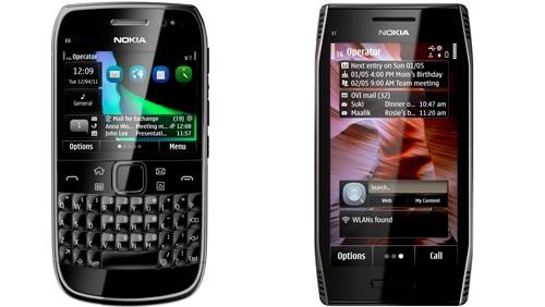 Nokia E6, Nokia X7