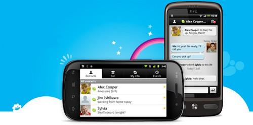 Skype su Windows Phone 7