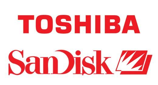Toshiba e SanDisk