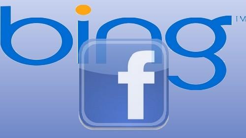 Bing e Facebook