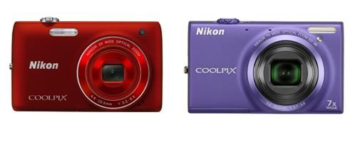 Nikon Coolpix S4100 e Nikon Coolpix S6100
