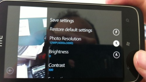HTC fotocamera 12 MPixel