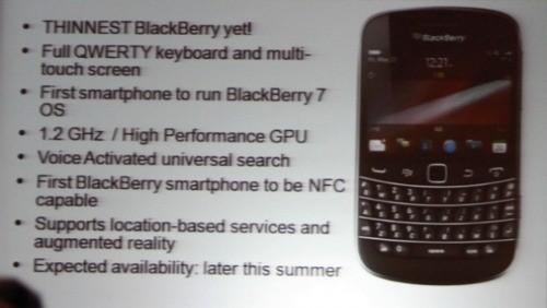 BlackBerry Bold 9900 e 9930