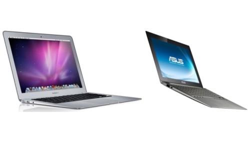 MacBook Air-ASUS UX21