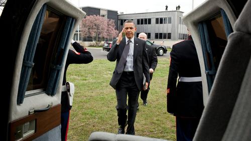 Obama con l'iPad