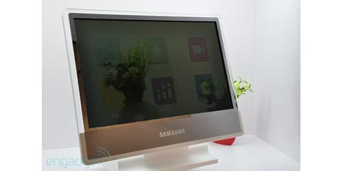 Samsung Transparent BLU LCD TV