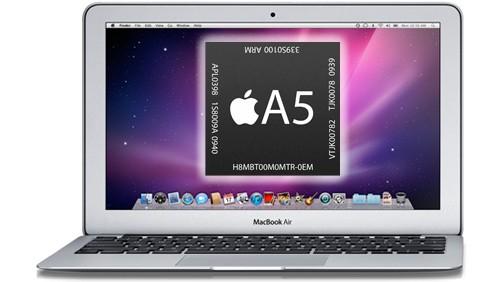 MacBook Air con CPU A5