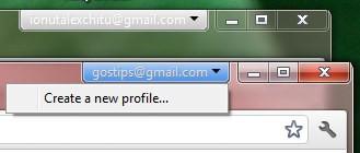 Gestione account multipli su Google Chrome