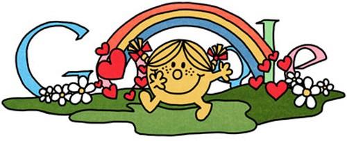 Google Doodle per celebrare Roger Hargreaves