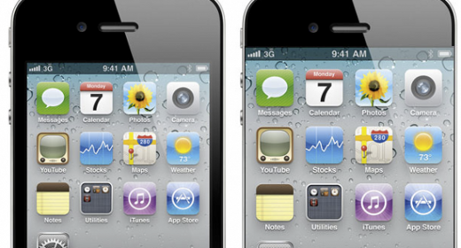 iPhone 5 display edge to edge