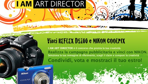 Nikon - Concorso I am Art Director