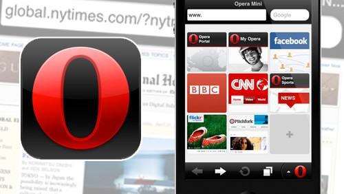 Opera Mini 6 per iPhone e iPad
