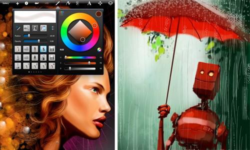 Autodesk SketchBook Pro 2 per iPad