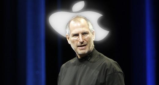 Steve Jobs con l'aoreola