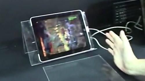 Lo schermo 3D mostrato alla fiera di Taiwan