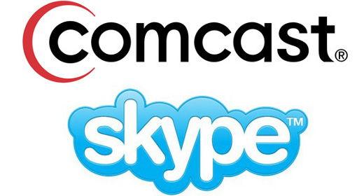 Comcast e Skype