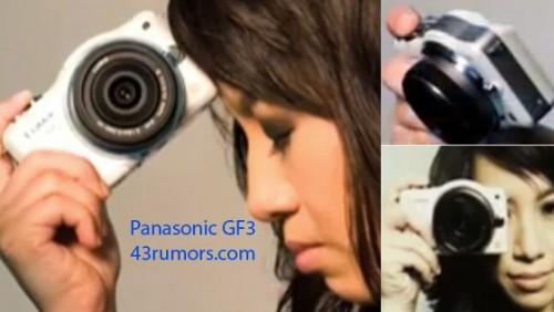 Fotocamera Panasonic Lumix GF3