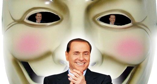 Anonymous e Silvio Berlusconi