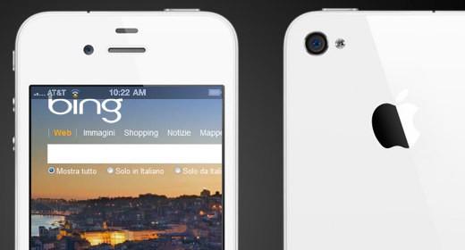 Bing su iPhone