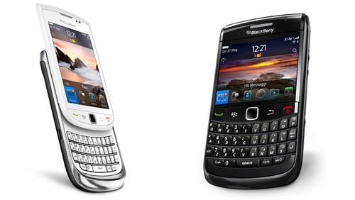 BlackBerry Bold 9780 e Touch 9800