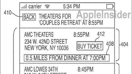 Brevetto cinema di iPhone