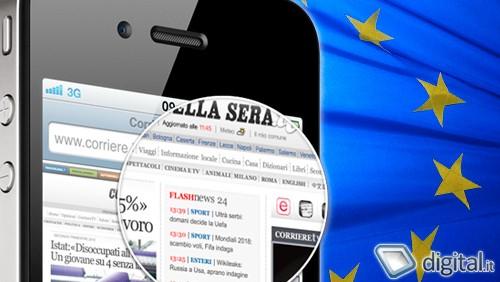 Il successo di iPhone in Europa
