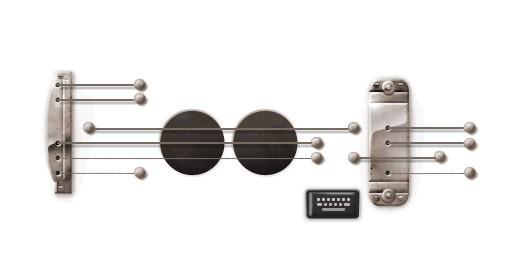 La chitarra Les Paul di Google