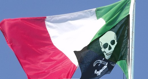 Pirateria in Italia