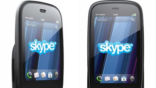 Skype su webOS