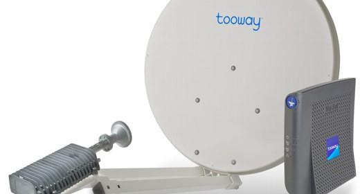 Antenna parabolica Tooway