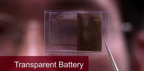 Batteria trasparente