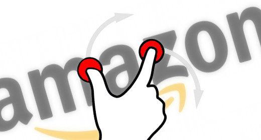 Amazon touchscreen