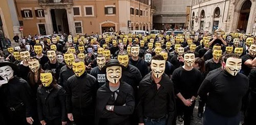 Anonymous italiani arrestati dalla polizia