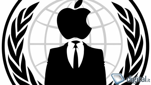 Apple nel mirino degli Anonymous
