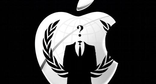 Apple e Anonymous