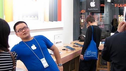 Finti Apple Store in Cina