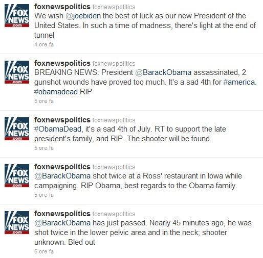 Messaggi da @FoxNewsPolitics
